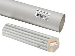 Трубы ПВХ жесткие - цвет серый, упаковка по 2м.