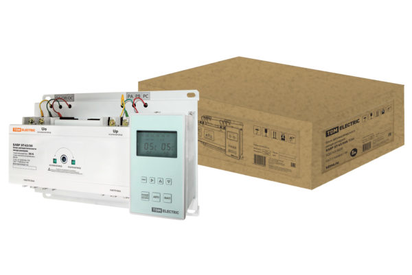 Блок автоматического ввода резерва БАВР 3П 63/50А TDM, SQ0743-0020