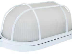 Светильник НПБ1202 белый/овал с реш. 100Вт IP54 TDM SQ0303-0038