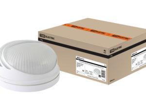 Светильник НПБ1307 белый/круг ресничка 60Вт IP54 TDM SQ0303-0051