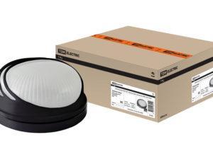 Светильник НПБ1307 черный/круг ресничка 60Вт IP54 TDM SQ0303-0052