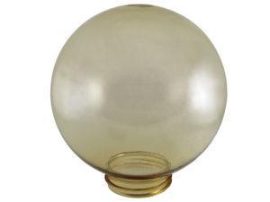 Рассеиватель шар ПММА 250 мм золотой (резьба А 85) TDM SQ0321-0222