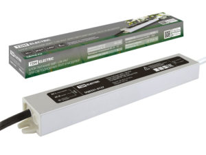 Блок питания 36Вт-12В-IP67 для светодиодных лент и модулей DC 12В, металл TDM SQ0331-0137
