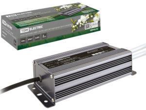 Блок питания 100Вт-12В-IP67 для светодиодных лент и модулей DC 12В, металл TDM SQ0331-0139