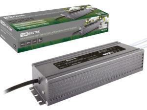 Блок питания 200Вт-12В-IP67 для светодиодных лент и модулей DC 12В, металл TDM SQ0331-0141