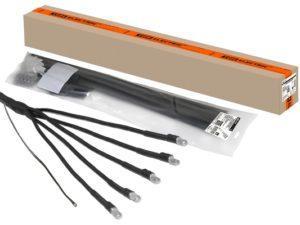 Муфты кабельные ПКВНтпБ с наконечниками (брон.кабель)