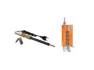 """Паяльник ЭПЦН-80, деревянная ручка, мощность 80 Вт, 230 В, подставка в комплекте, """"Рубин"""" TDM SQ1025-0504"""
