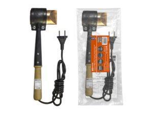 """Паяльник ЭПСН-150, """"Топорик"""", деревянная ручка, мощность 150 Вт, 230 В, подставка, """"Рубин"""" TDM SQ1025-0506"""