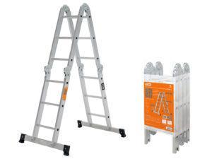 Лестница-трансформер алюминиевая ЛТА4х3, 4 секции по 3 ступени, h=330/160/92 см, 10,4 кг TDM SQ1028-0303