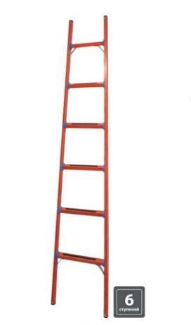 """Лестница диэлектрическая ЛД-6, 6 ступеней, высота 2,5 м, до 50 кВ, """"ЭкспертЭлектрик"""" TDM SQ1028-0503"""