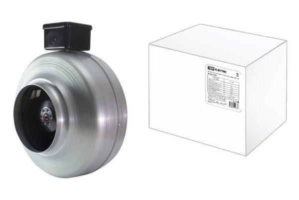 Вентилятор канальный центробежный ВК-100, TDM SQ1807-0501