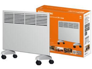 Конвектор электрический ЭК-1500, 1500 Вт, регул. мощн. (750/1500 Вт), термостат, TDM SQ2520-1202