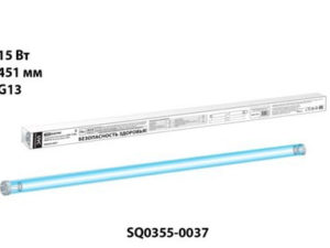 Лампа бактерицидная UVC 15 Вт, T8/G13, безозоновая TDM SQ0355-0037