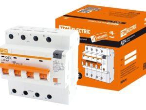 Дифференциальные автоматы АД12 в 5-ти модульном корпусе