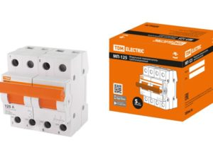 Модульный переключатель трехпозиционный МП-125 2P 125А TDM SQ0224-0045