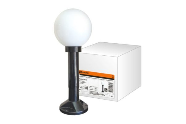 Светильник НТУ 03- 60-200-С2 шар опал d=200 мм на стойке 330 мм IP54 TDM