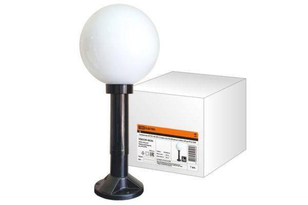 Светильник НТУ 03- 60-250-С2 шар опал d=250 мм на стойке 330 мм IP54 TDM