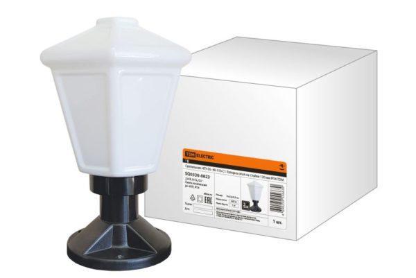 Светильник НТУ 05- 40-110-С1 Латерна опал на стойке 130 мм IP54 TDM