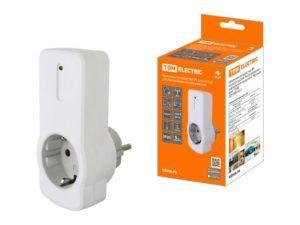 """Приемное устройство Р1 (в розетку) для беспроводного управления нагрузкой """"Уютный дом"""" TDM SQ1508-0211"""