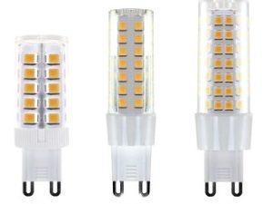 Лампа светодиодная G9-9 Вт-230 В-6500 К