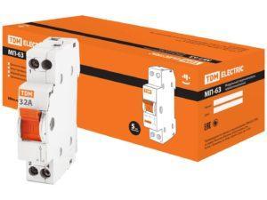 Модульный переключатель трехпозиционный МП-63 1P 32А TDM SQ0224-0006