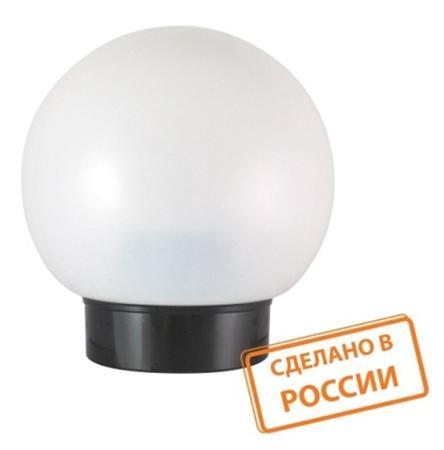 Светильник НББ 03-60-025 УХЛ4 (шар пластик/прямое основание черное) TDM SQ0314-0008