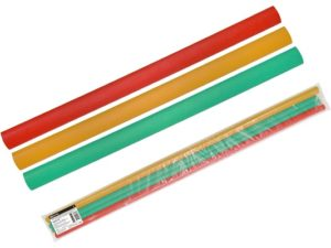 Трубки термоусаживаемые, клеевые, набор 3 цвета по 3 шт. ТТкНГ(3:1)