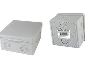 Распаячная коробка ОП 100х100х55мм