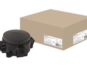 Монтажные коробки открытой установки КЭМ IP44, IP65 (карболит)