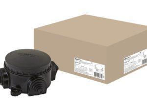 Коробка электромонтажная КЭМ 1-10-3Б ОП D78 мм IP44