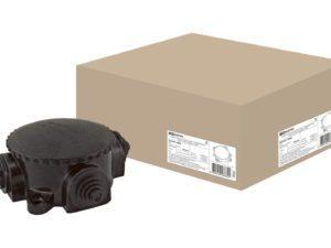 Коробка электромонтажная КЭМ 1-10-4М ОП D72 мм IP44