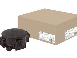 Коробка электромонтажная КЭМ 1-10-4Б ОП D78 мм IP44