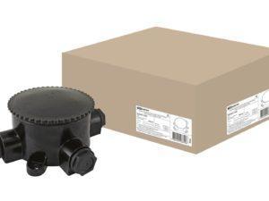 Коробка электромонтажная КЭМ 2-660-3 ОП D95 мм IP65