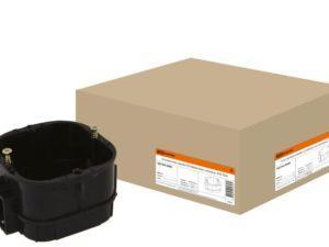 Установочная коробка СП 60х60х43мм, саморезы, IP20, TDM SQ1402-0004