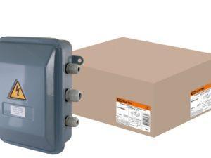 Коробка клеммная металлическая У-614М IP54 TDM