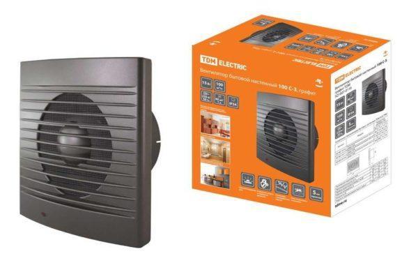 Вентилятор бытовой настенный 150 С-3