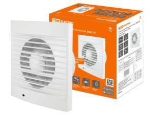 Вентилятор бытовой настенный, 150 С-П, подш. кач, белый, TDM SQ1807-2006