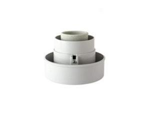 Корпус НТУ плоский универсальный (резьба А85, поликарбонат, серый) TDM