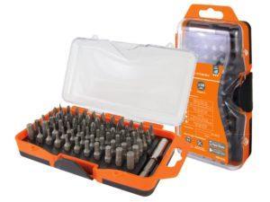 Набор бит №4, 66 бит: SL, PH, PZ, HEX, TORX, SQ, удлинитель, сталь CR-V, в пласт. держ.«Алмаз» TDM; SQ1019-0104