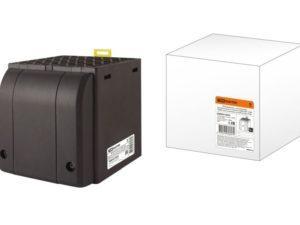 Обогреватель с встроенным вентилятором в корпусе ОШВ-150 230В 150Вт для установки на DIN-рейку TDM