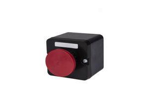 ПКЕ 212-1 красный гриб с фиксацией IP40 TDM; SQ0742-0027