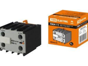 Приставка контактная ПКН-11 для МКН (доп. контакты 1НО+1НЗ) TDM-SQ0736-0059