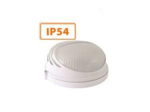 Светильник НПБ1107 белый/круг ресничка 100Вт IP54 TDM
