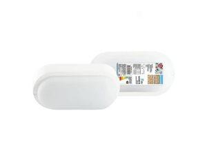 Светодиодный светильник LED ДПП 3801 8Вт 6500К IP65 белый овал 155*78*57 мм Народный; SQ0329-0812