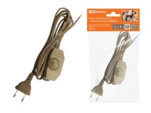 Удлинительные шнуры cо светорегулятором и плоской вилкой