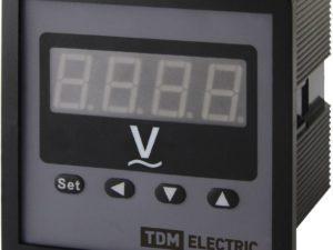 Цифровой вольтметр ЦП-В72 0-9999В-0,5-Р TDM; SQ1102-0525