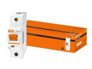 Автоматический выключатель ВА47-125 1P 16А 15кА х-ка С