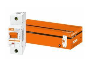 Автоматический выключатель ВА47-125 1P 25А 15кА х-ка С