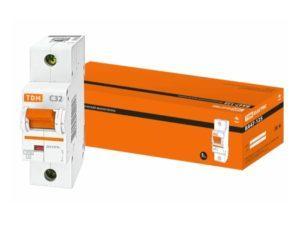 Автоматический выключатель ВА47-125 1P 32А 15кА х-ка С