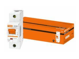 Автоматический выключатель ВА47-125 1P 35А 15кА х-ка С